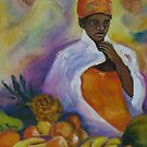 Dreaming at the market by Santie Amery