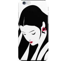 Silhouette Girl  iPhone Case/Skin
