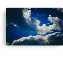 Powers inline and outside the divine shines Canvas Print