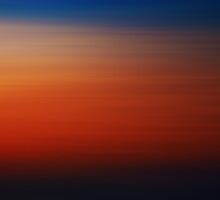 Sunset Above The Clouds by Denise Abé
