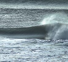 Late Afternoon Breakers by Bob Wall