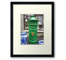 The Irish Post Box Framed Print