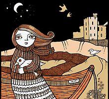 Seonaids Seagulls (Slains) by Anita Inverarity