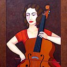 Guilhermina Suggia  - Woman cellist of fire by Madalena Lobao-Tello