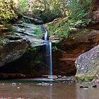 Lower Falls, Old Man's Cave, Hocking Hills State Park by Sam Warner