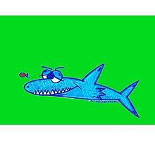 Sharky Photographic Print