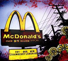 McDonald's Sign: Strawberry Lemonade by Artondra Hall