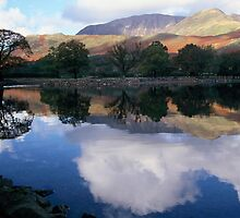 A Perfect Morning - Buttermere by Denise McDonald