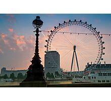 The London Eye Photographic Print