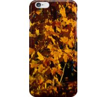 Golden leaves iphone case iPhone Case/Skin