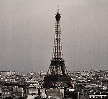 Eiffel Tower by K-Jo