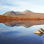 Mountain reflection by Grant Glendinning