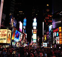 Times Square by K-Jo