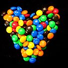 I love M & M's!!!!!!!!!!!! by Nicki Baker
