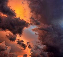 Just Another Oklahoma Cloud by Carolyn  Fletcher