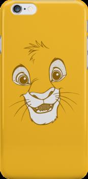 Simba Face by MissCake