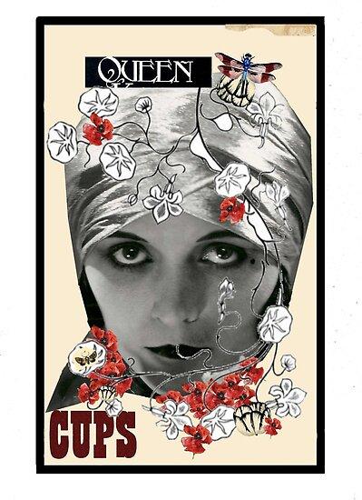 Dada Tarot- Queen of Cups by Peter Simpson