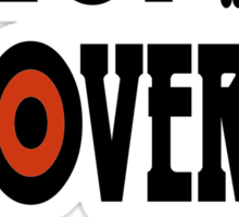 People Over Profits Occupy Protests Sticker