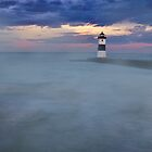Fog on the Pier by Kathy Weaver