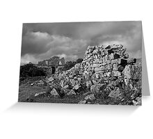 Fogintor Quarry Greeting Card
