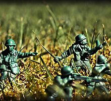 Toy Soldiers Attack! (Lomo image) by jonathan1984