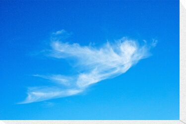 Icarus {cloud } by richard  webb