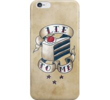 """Lie To Me"" iPhone Case/Skin"