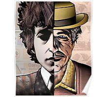 """Bob Dylan """"Man v. Myth"""" Poster"""