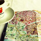 Coffee and a Map by Caroline Fournier