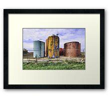 Rusty Vessel Framed Print