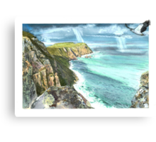 Cape Raoul and Sea Eagle Canvas Print