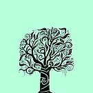 iPhone Tree Doodle by eleveneleven