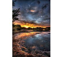 Burning Shore Photographic Print