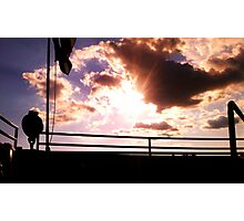 Clouds off the bow of the Clipper Winnebago  Photographic Print