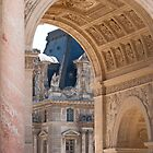 Paris Architecture at the Louvre by LadyThegn