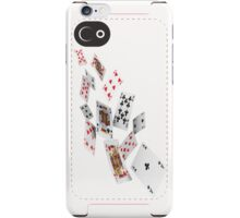 Flying cards iPhone Case/Skin