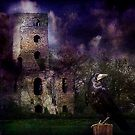 Racton Ruins - The Witching Hour by hampshirelady