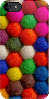 Bobbles & Baubles - iPhone Cover by Bryan Freeman