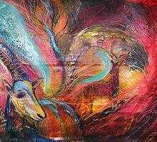 The Spirit of Ein Gedi by Elena Kotliarker
