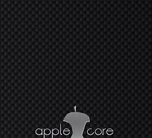 Apple Core - Carbon by Benjamin Whealing
