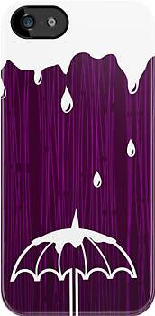 under the rain iphone case by Anastasiia Kucherenko