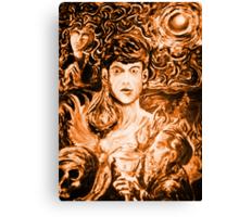 The Deathly Halloween Experiment Canvas Print