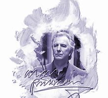 Alan Rickman i-phone case #2 by scatharis