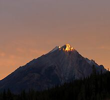 Sunrise in Kananaskis, Alberta, Canada by Philippe Widling
