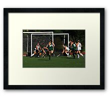 100511 227 0 field hockey Framed Print