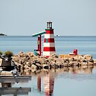 Tavernier Mini Lighthouse by Rene  Triay