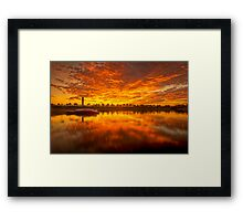 ~Red October~ Framed Print