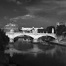 Castel Sant&#x27;Angelo Rome by Darren Burroughs