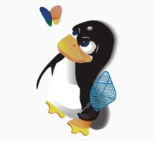 What are you doing, Tux? Kids Clothes