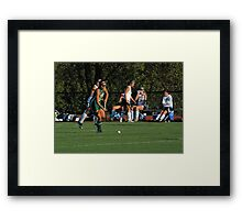 100511 301 0 field hockey Framed Print